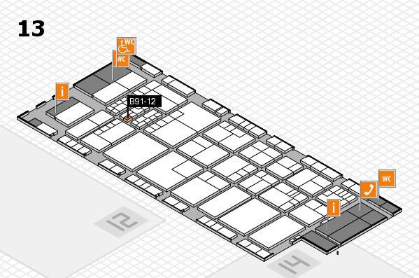 K 2016 Hallenplan (Halle 13): Stand B91-12
