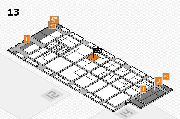 K 2016 Hallenplan (Halle 13): Stand C59