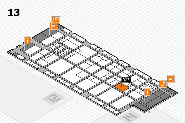 K 2016 Hallenplan (Halle 13): Stand B27