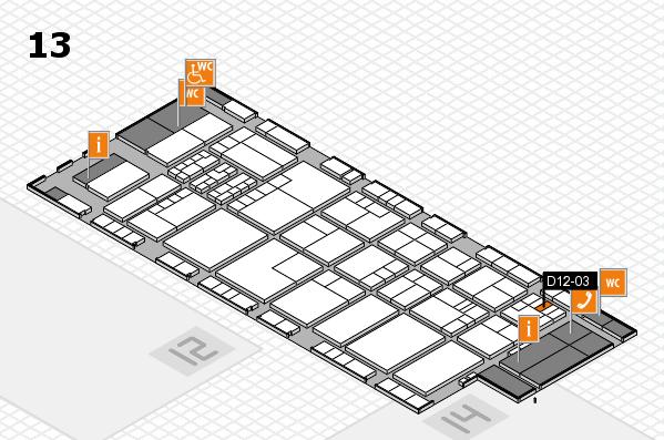 K 2016 Hallenplan (Halle 13): Stand D12-03