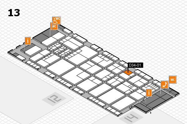 K 2016 Hallenplan (Halle 13): Stand D34-01