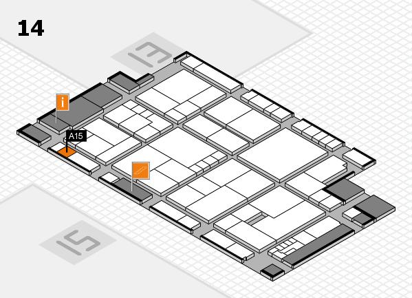 K 2016 Hallenplan (Halle 14): Stand A15