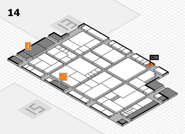 K 2016 Hallenplan (Halle 14): Stand C56