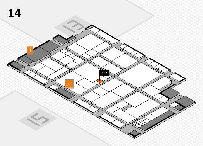 K 2016 Hallenplan (Halle 14): Stand B25