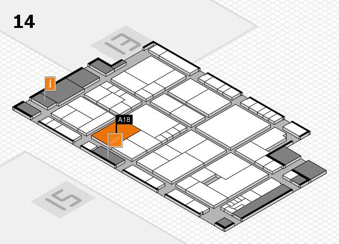 K 2016 Hallenplan (Halle 14): Stand A18