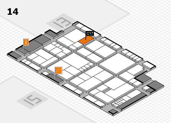 K 2016 Hallenplan (Halle 14): Stand C17