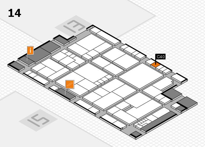 K 2016 Hallenplan (Halle 14): Stand C40