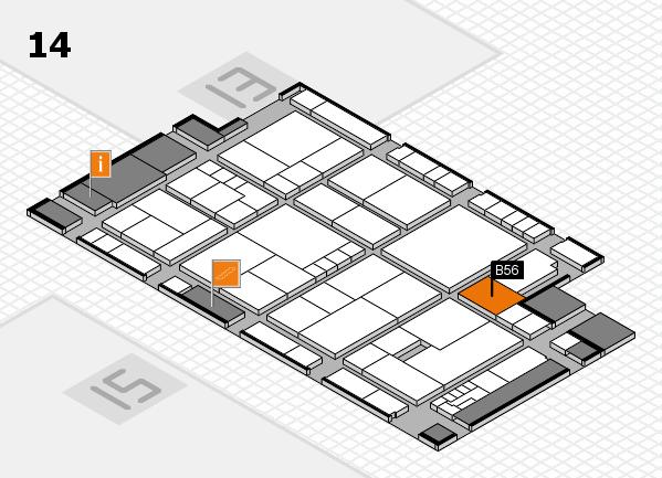K 2016 Hallenplan (Halle 14): Stand B56