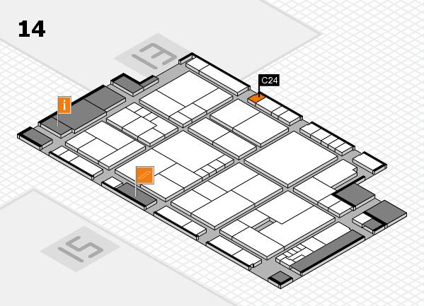 K 2016 Hallenplan (Halle 14): Stand C24