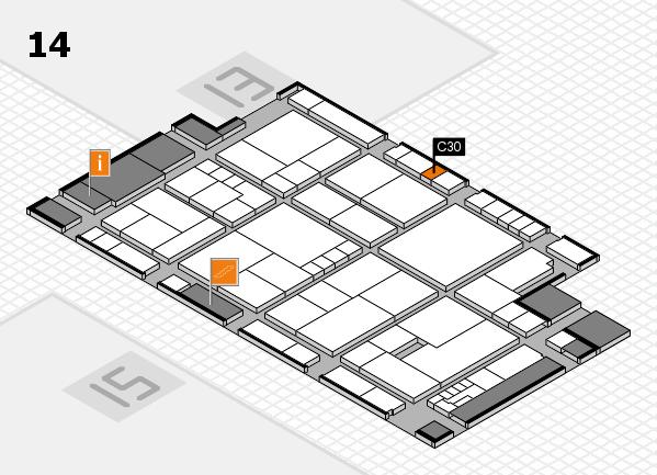 K 2016 Hallenplan (Halle 14): Stand C30