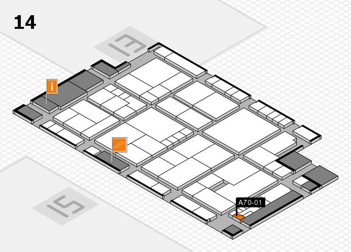 K 2016 Hallenplan (Halle 14): Stand A70-01