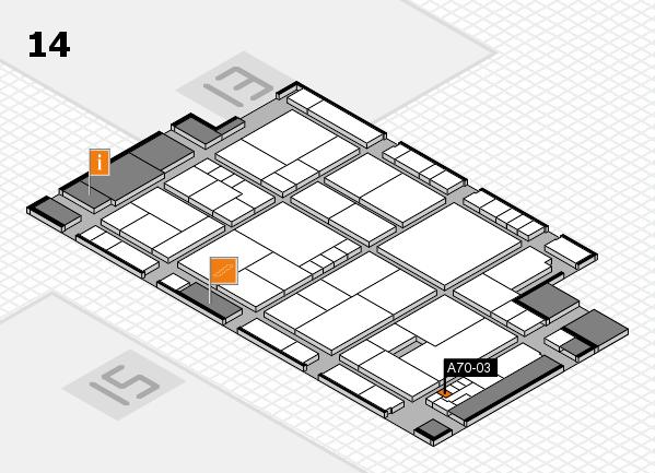 K 2016 Hallenplan (Halle 14): Stand A70-03