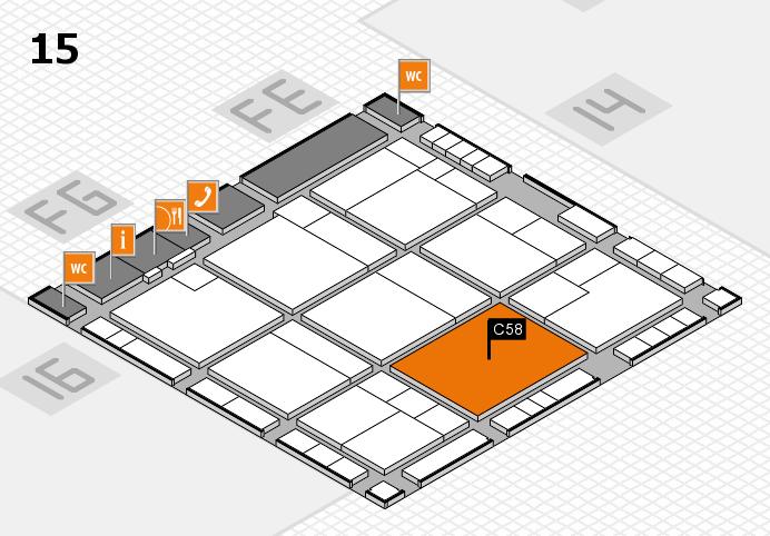K 2016 Hallenplan (Halle 15): Stand C58