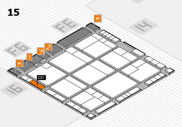 K 2016 Hallenplan (Halle 15): Stand D21
