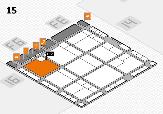 K 2016 Hallenplan (Halle 15): Stand D22