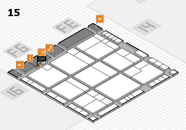 K 2016 Hallenplan (Halle 15): Stand C01