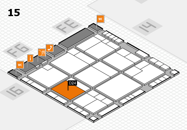 K 2016 Hallenplan (Halle 15): Stand D24