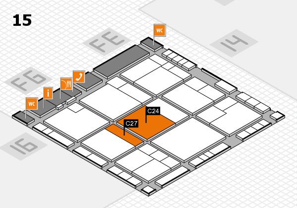 K 2016 Hallenplan (Halle 15): Stand C24, Stand C27