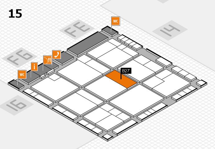 K 2016 Hallenplan (Halle 15): Stand B27