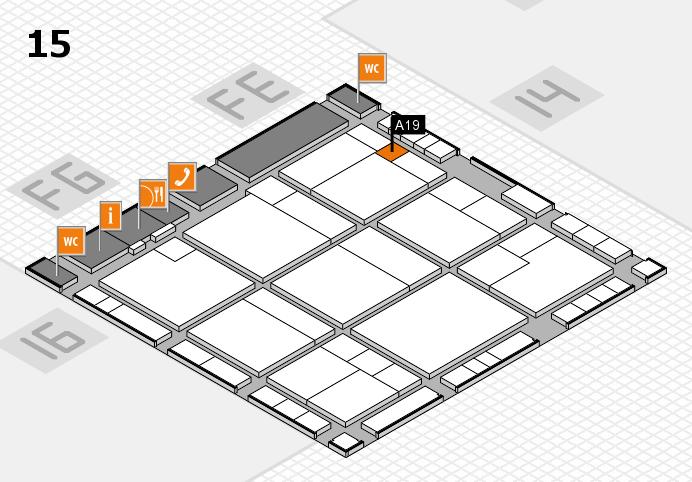 K 2016 Hallenplan (Halle 15): Stand A19