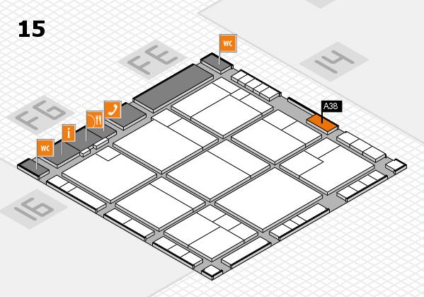 K 2016 Hallenplan (Halle 15): Stand A38