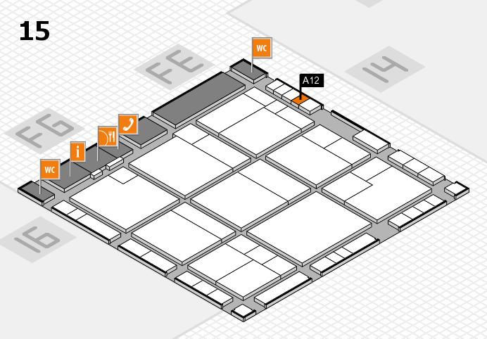 K 2016 Hallenplan (Halle 15): Stand A12