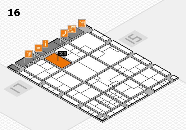 K 2016 Hallenplan (Halle 16): Stand D06