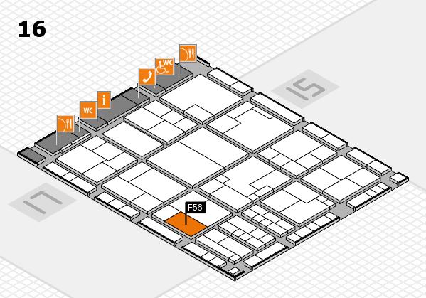 K 2016 Hallenplan (Halle 16): Stand F56