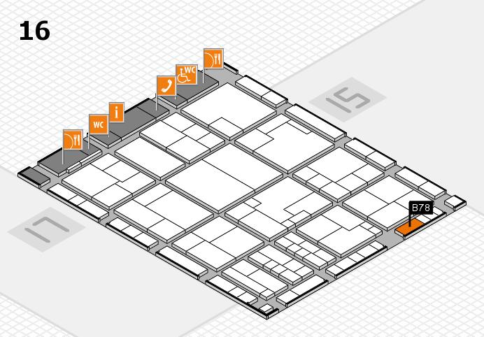 K 2016 Hallenplan (Halle 16): Stand B78