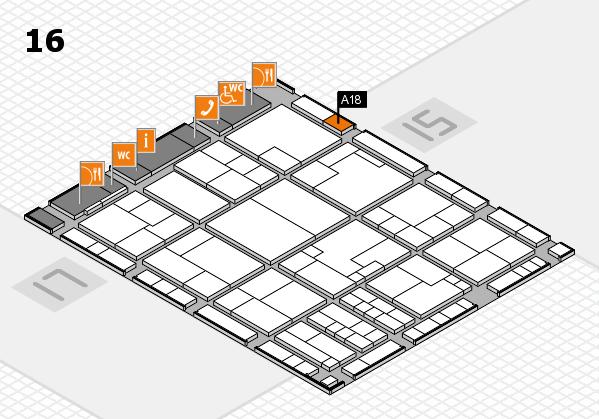 K 2016 Hallenplan (Halle 16): Stand A18