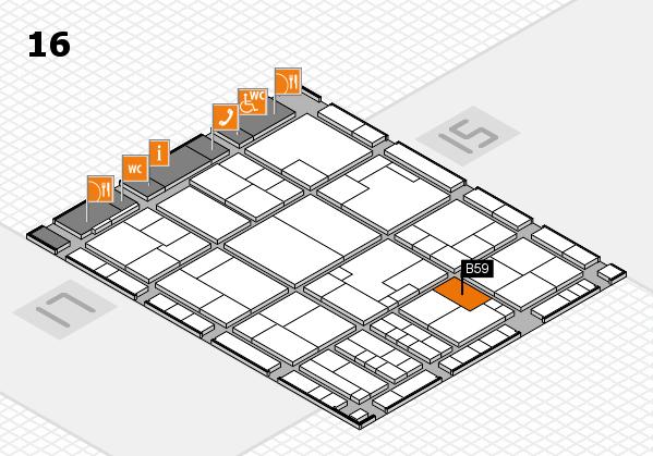 K 2016 Hallenplan (Halle 16): Stand B59