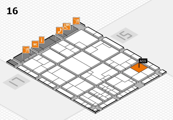 K 2016 Hallenplan (Halle 16): Stand A59