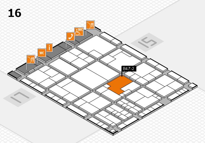 K 2016 Hallenplan (Halle 16): Stand B47-2