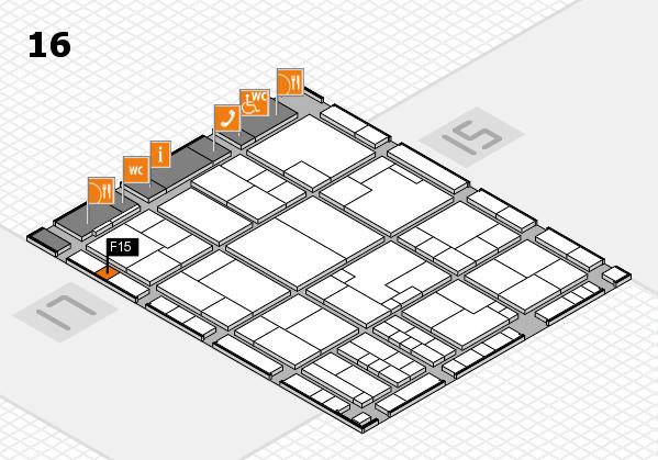 K 2016 Hallenplan (Halle 16): Stand F15