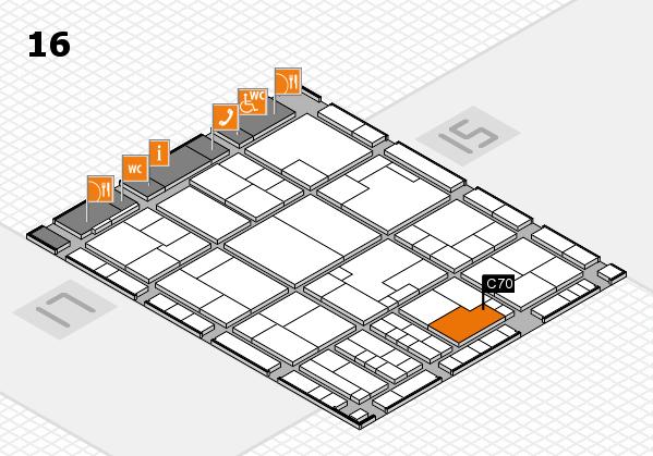 K 2016 Hallenplan (Halle 16): Stand C70