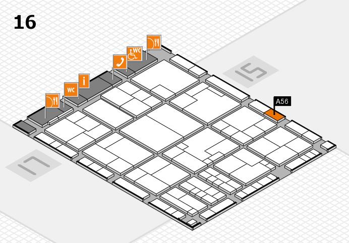 K 2016 Hallenplan (Halle 16): Stand A56