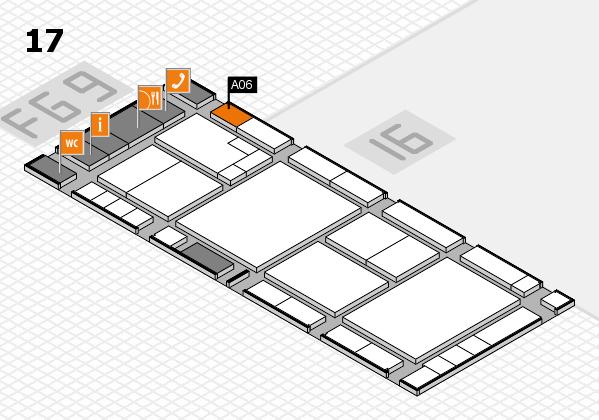 K 2016 Hallenplan (Halle 17): Stand A06