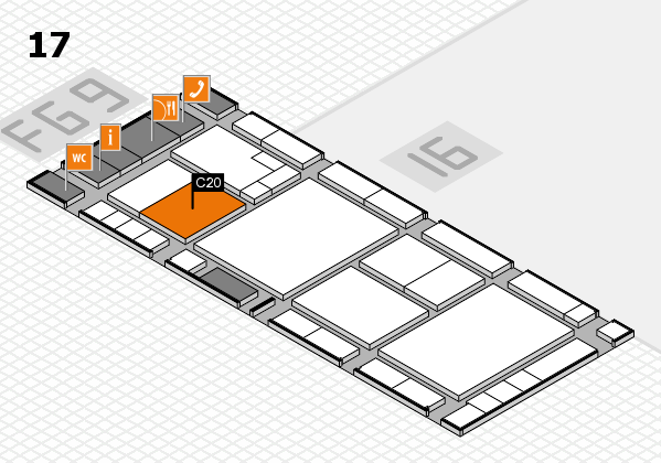 K 2016 Hallenplan (Halle 17): Stand C20