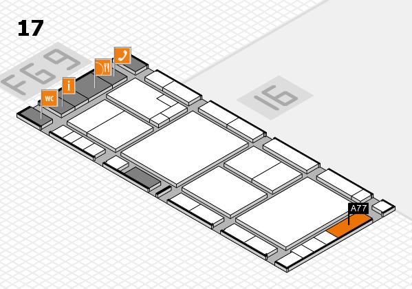 K 2016 Hallenplan (Halle 17): Stand A77