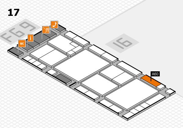 K 2016 Hallenplan (Halle 17): Stand A60