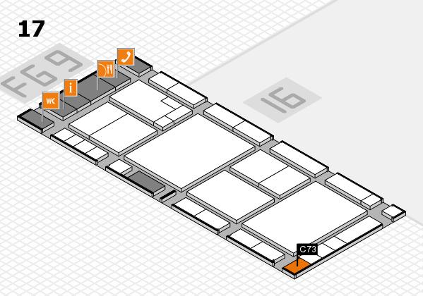 K 2016 Hallenplan (Halle 17): Stand C73