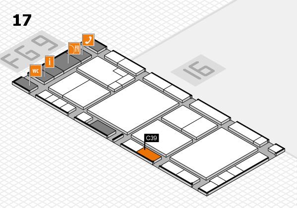 K 2016 Hallenplan (Halle 17): Stand C39