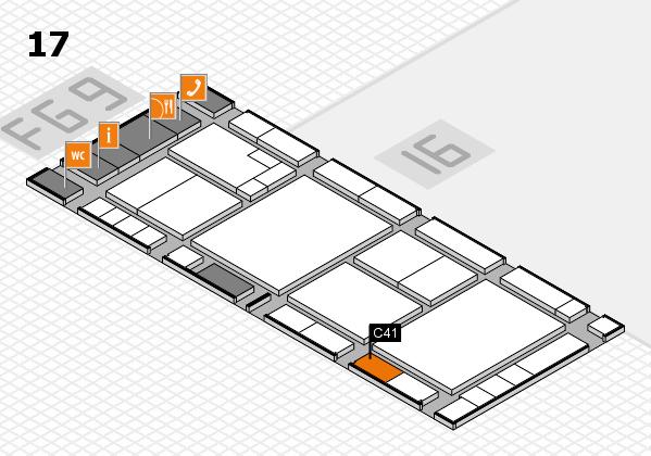 K 2016 Hallenplan (Halle 17): Stand C41