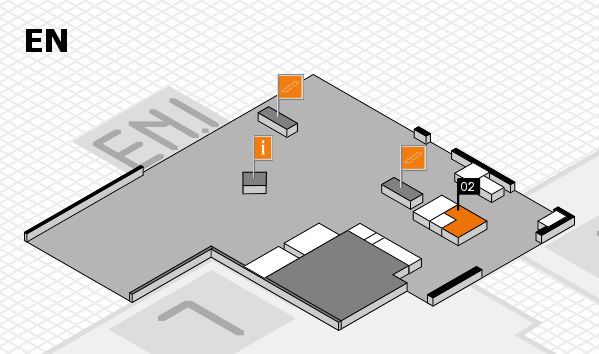 K 2016 Hallenplan (Eingang Nord): Stand 02