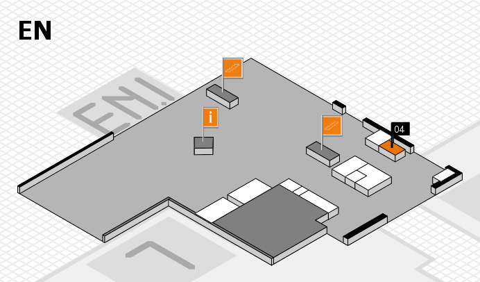 K 2016 hall map (North Entrance): stand 04