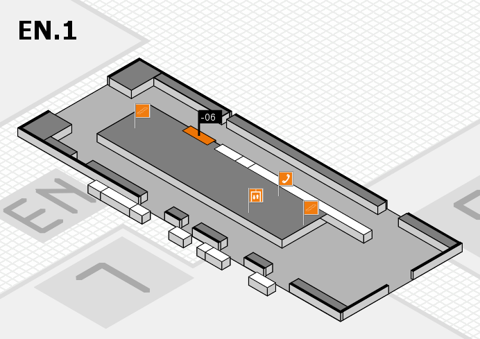 K 2016 hall map (North Entrance 1): stand -06