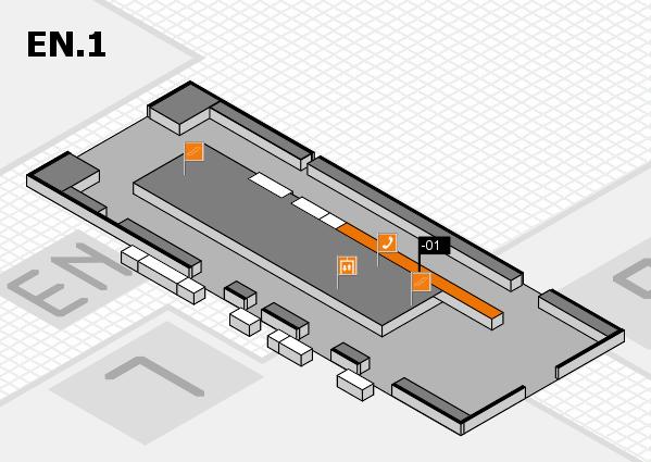 K 2016 Hallenplan (Eingang Nord 1): Stand -01