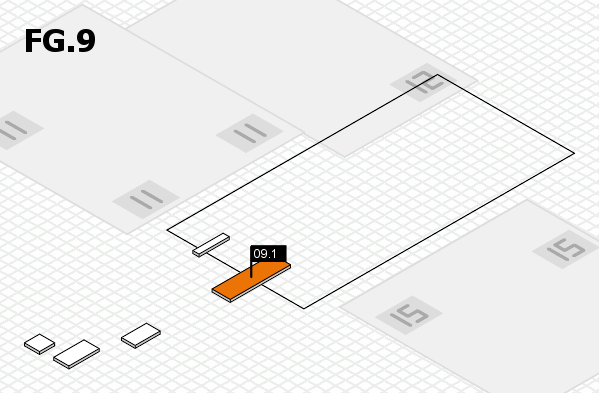 K 2016 hall map (OA Hall 9): stand 09.1
