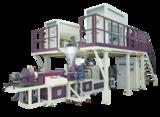 Twin screw extrusion machine