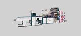 Triple deck T shirt bag making machine, cold cut system (9 lines)